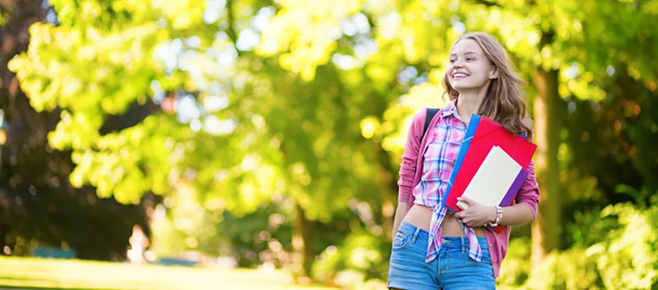 アメリカ高校生留学のイメージ。アメリカ留学なら安心サポートがおすすめのE2 SMILEへ